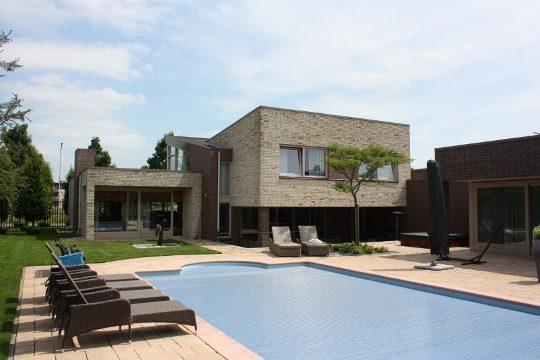Nieuwbouw Woonhuis met kantoor te Weert - voorbeeld project - BEELEN CS architecten Eindhoven