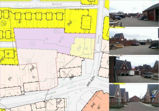 Situatie - gezondheidscentrum met woonzorg complex, Stramproy - BEELEN CS architecten Eindhoven / Thalliagroep Weert