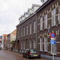 Straatgevel - Plan voor herbestemming pastorie naar zorgappartementen of hotel, Weert - BEELEN CS architecten Eindhoven / Thalliagroep Weert