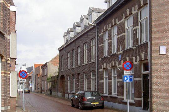 Straatgevel - Plan voor herbestemming pastorie naar zorgappartementen of hotel, Weert - Thalliagroep Weert Eindhoven
