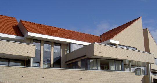 Terrassen De Poell - Appartementengebouwen De Poell en La Poste, Nederweert - BEELEN CS architecten Eindhoven / Thalliagroep Weert