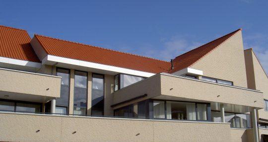 Terrassen De Poell - Appartementengebouwen De Poell en La Poste, Nederweert   BEELEN CS architecten / Thallia groep Weert - Eindhoven