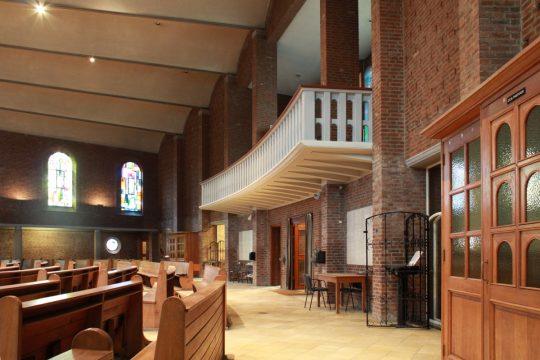 oksaal - Fatimakerk Weert - BEELEN CS architecten Eindhoven / Thalliagroep Weert