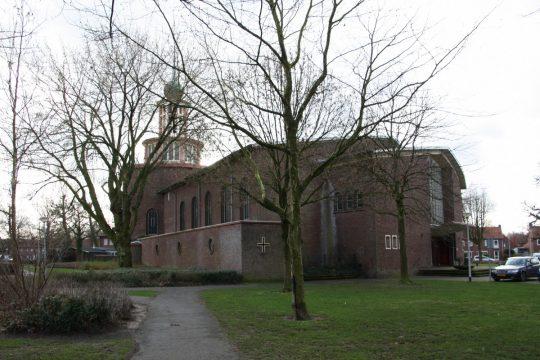 zijkant - Fatimakerk Weert | BEELEN CS architecten / Thallia groep Weert - Eindhoven