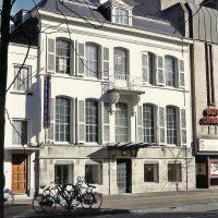 Keizersgracht 17 gevel - Herbestemming naar studentensociëteit, Eindhoven - BEELEN CS architecten Eindhoven / Thalliagroep Weert