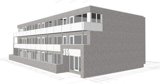Ontwikkeling appartementgebouw Beemdenstraat, Weert | BEELEN CS architecten / Thallia groep Weert - Eindhoven