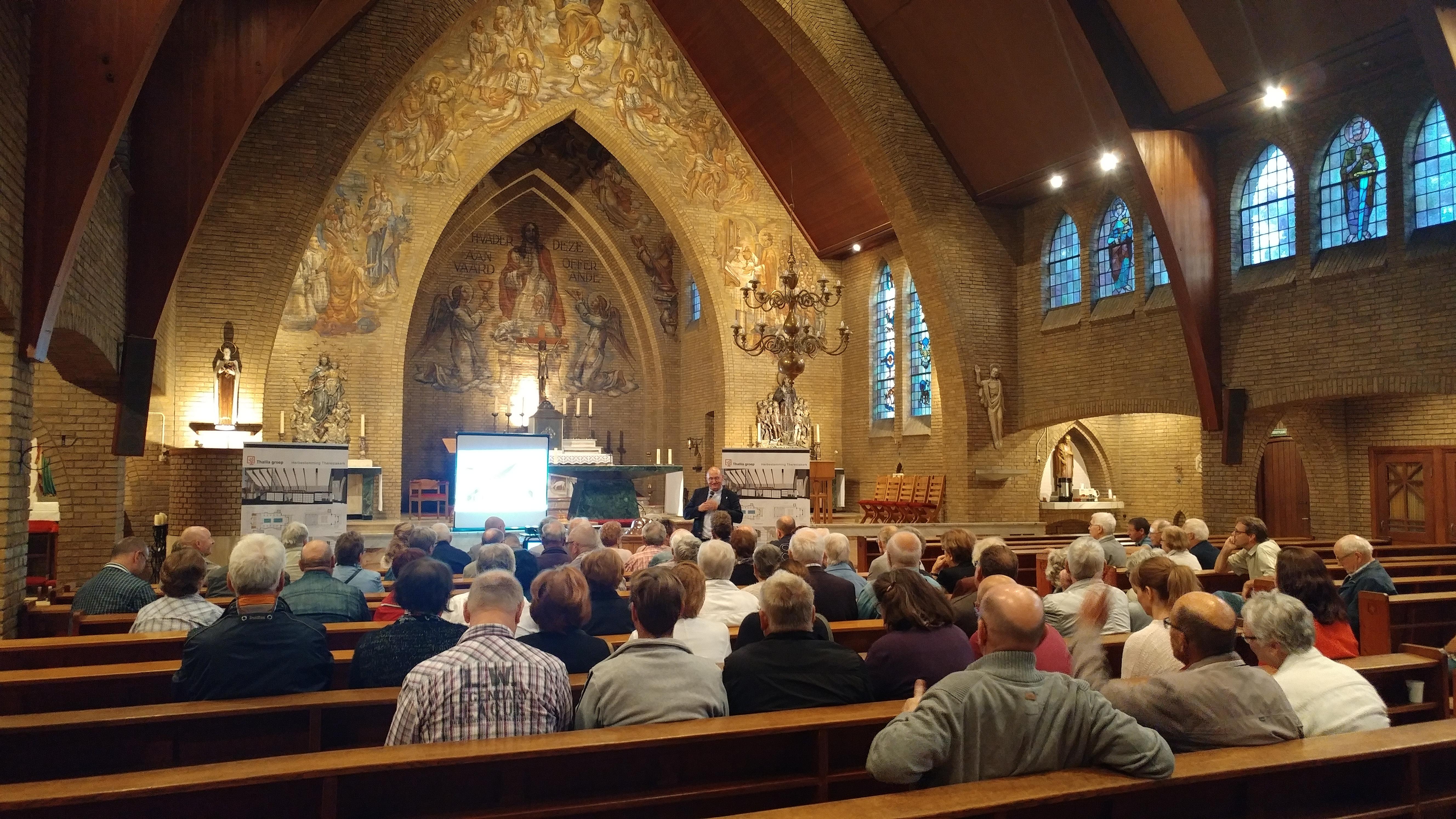 informatieavond Kerkgebouw Landgraaf - BEELEN CS architecten Eindhoven / Thalliagroep Weert