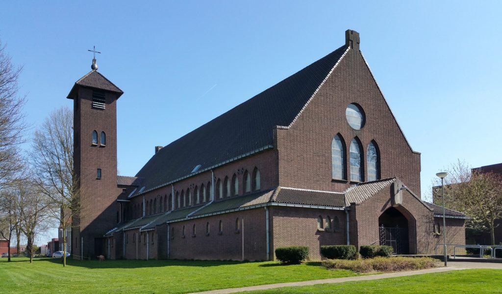 Exterieur - Herbestemming Theresiakerk, Landgraaf   Thallia groep Weert - Eindhoven