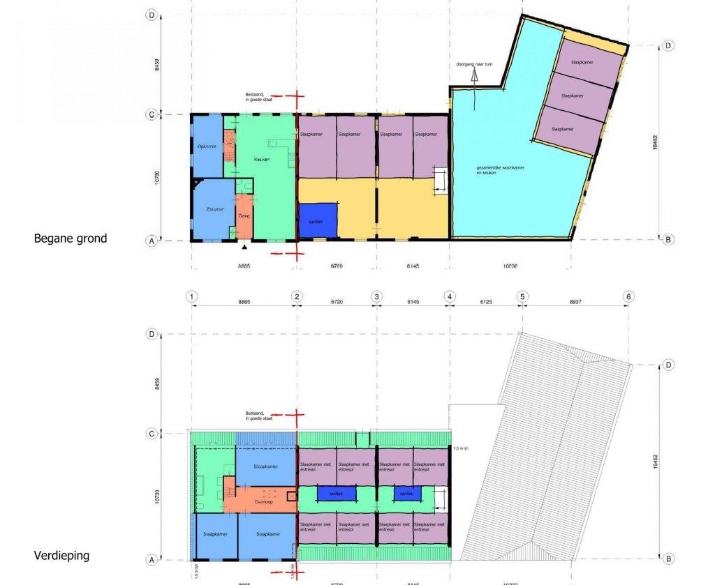 Ontwikkeling Longstay Woongroep, Eindhoven - BEELEN CS architecten Eindhoven / Thalliagroep Weert