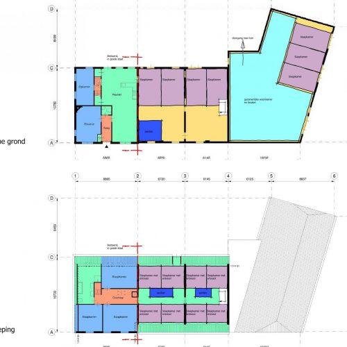 Ontwikkeling Longstay Woongroep, Eindhoven   BEELEN CS architecten / Thallia groep Weert - Eindhoven
