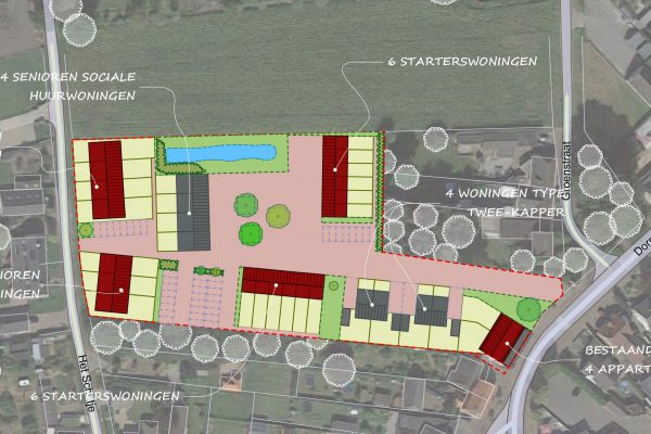 Ontwikkeling inbreidingslocatie Soerendonk | Thallia groep Weert - Eindhoven