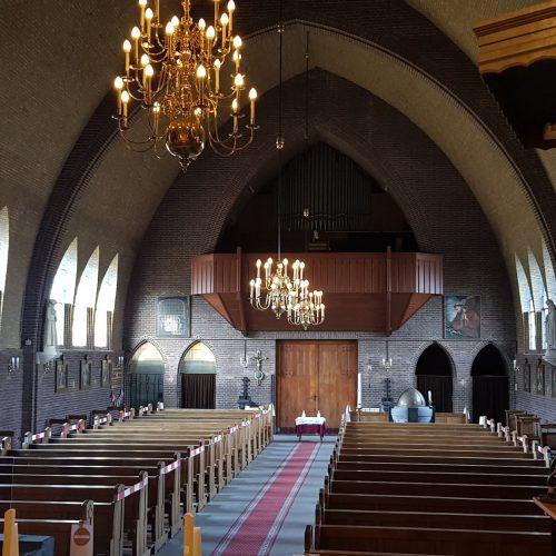 Interieur kerkgebouw | Thallia groep Weert - Eindhoven