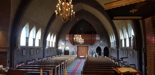 Interieur kerkgebouw   Thallia groep Weert - Eindhoven