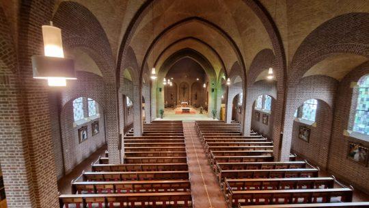 Herbestemming Sint-Andreaskerk Melick, interieur 03 I Thallia groep Weert - Eindhoven
